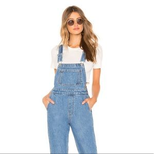 NWOT Levi's Denim Mom Jeans Overalls